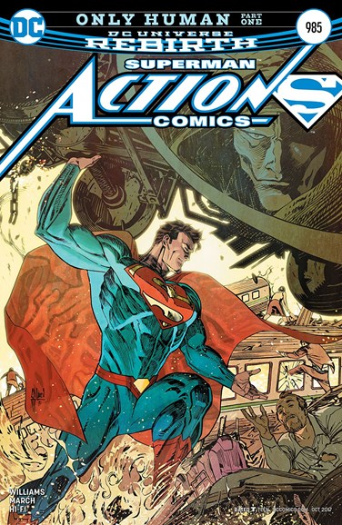 Action Comics Cover - 10/1/2017