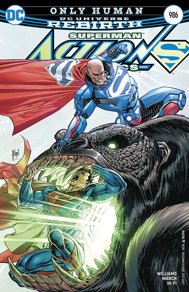 Action Comics Cover - 10/15/2017