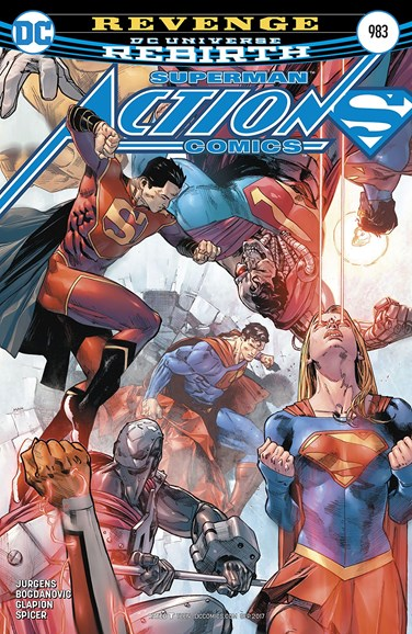 Action Comics Cover - 9/1/2017