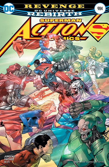 Action Comics Cover - 9/15/2017