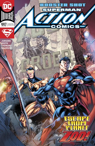 Action Comics Cover - 4/1/2018