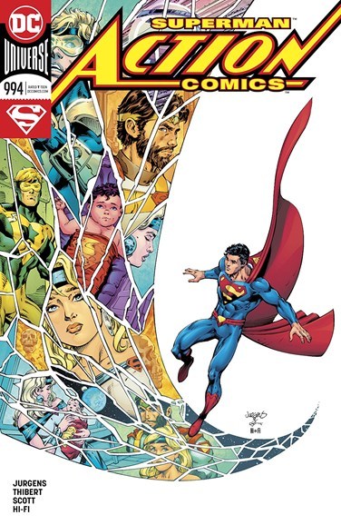 Action Comics Cover - 2/15/2018