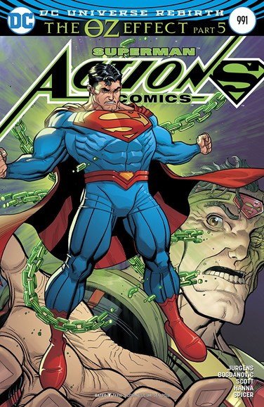 Action Comics Cover - 1/1/2018