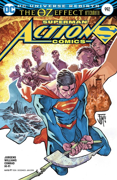 Action Comics Cover - 1/15/2018