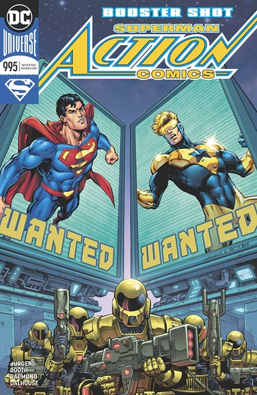 Action Comics Cover - 3/1/2018