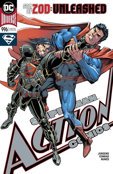 Action Comics Cover - 3/15/2018
