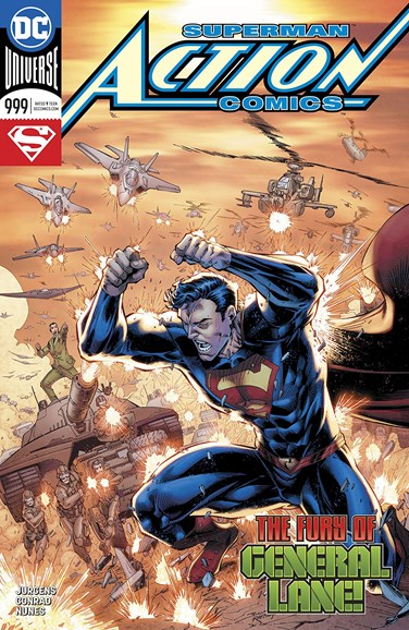 Action Comics Cover - 5/1/2018