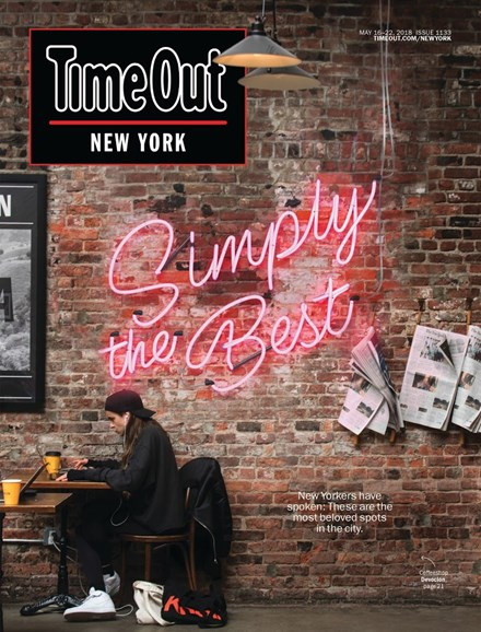 Time Out New York Cover - 5/16/2018