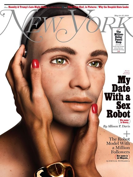New York Magazine Cover - 5/14/2018