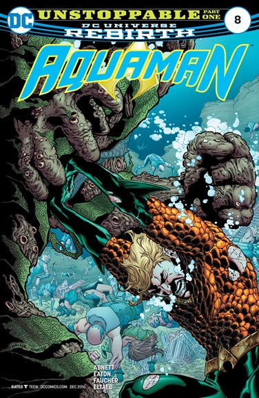 Aquaman Cover - 12/1/2016