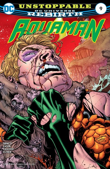 Aquaman Cover - 12/15/2016