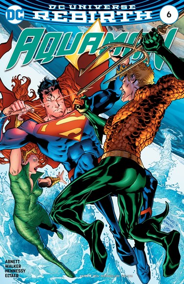 Aquaman Cover - 11/1/2016