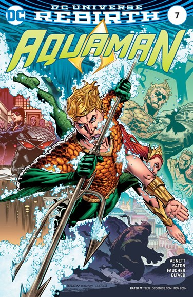 Aquaman Cover - 11/15/2016