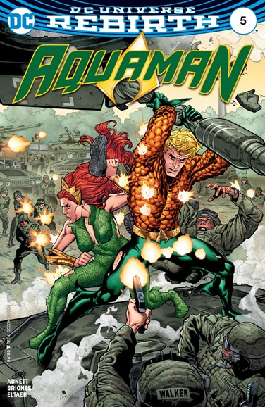 Aquaman Cover - 10/15/2016