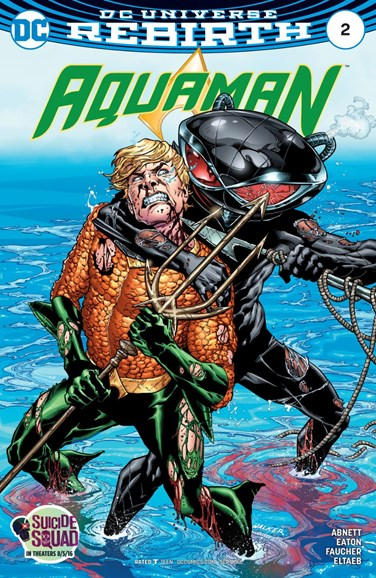 Aquaman Cover - 9/1/2016