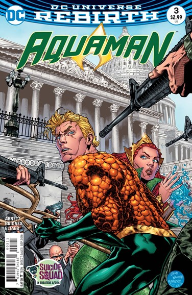 Aquaman Cover - 9/15/2016