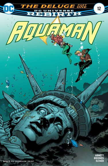 Aquaman Cover - 2/1/2017