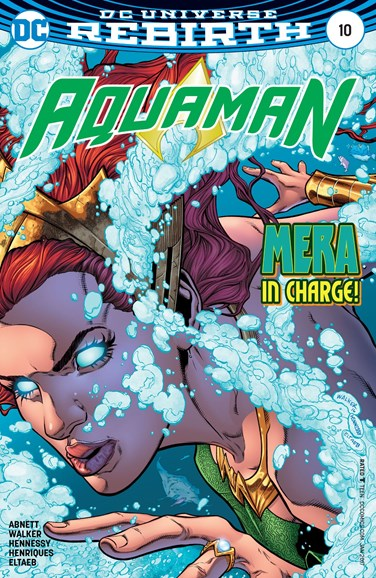 Aquaman Cover - 1/1/2017