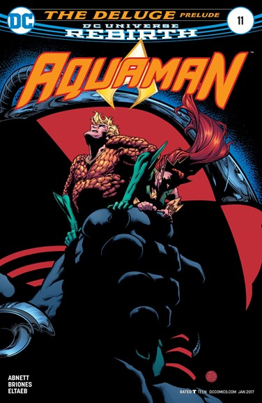 Aquaman Cover - 1/15/2017