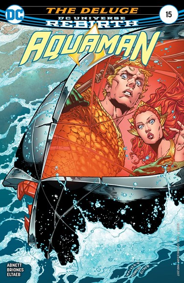 Aquaman Cover - 3/1/2017
