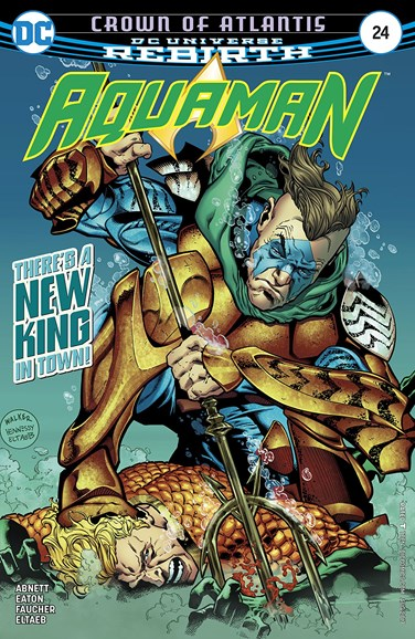 Aquaman Cover - 8/1/2017