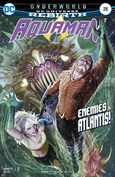Aquaman Cover - 11/1/2017