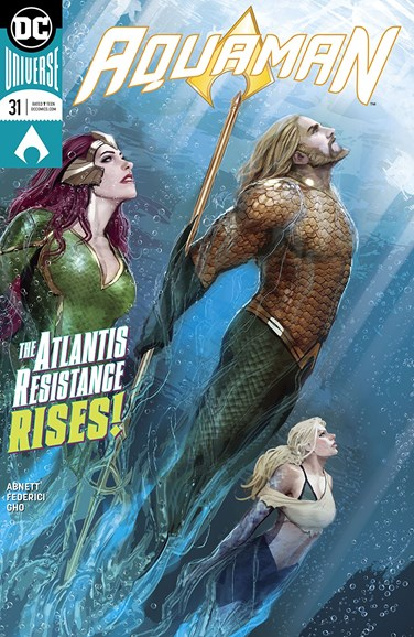 Aquaman Cover - 2/1/2018