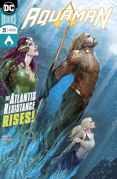 Aquaman Cover - 2/1/2018