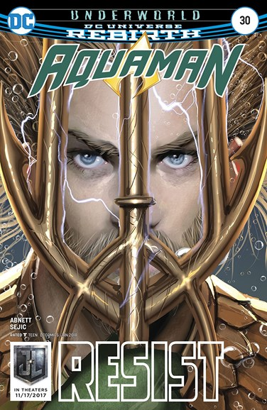 Aquaman Cover - 1/1/2018