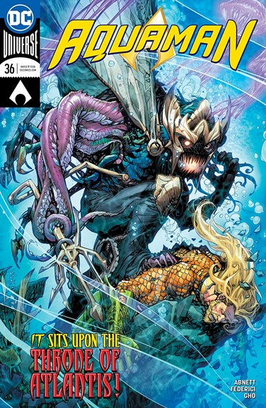 Aquaman Cover - 7/1/2018