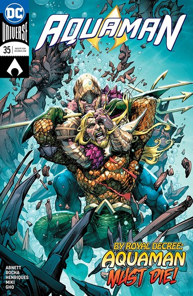 Aquaman Cover - 6/1/2018