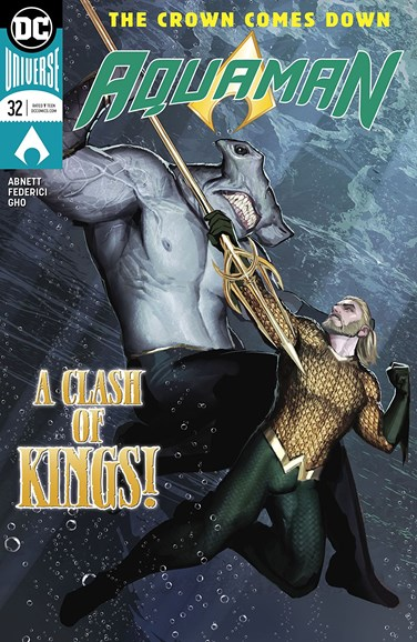 Aquaman Cover - 3/1/2018