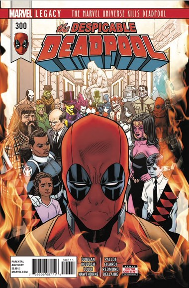 Deadpool Cover - 7/1/2018