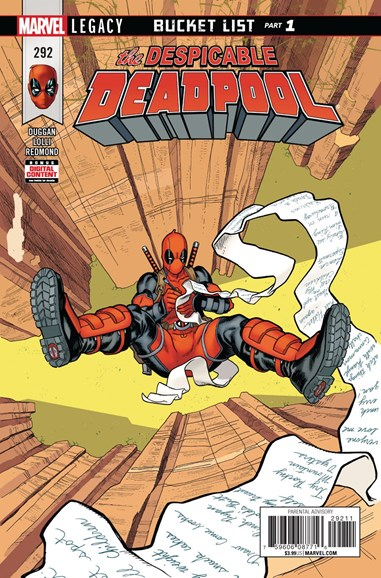 Deadpool Cover - 3/1/2018
