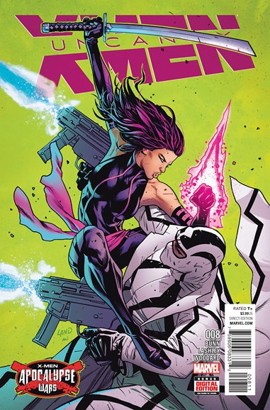 Astonishing X-Men Cover - 8/1/2016
