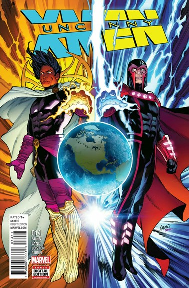Astonishing X-Men Cover - 12/1/2016
