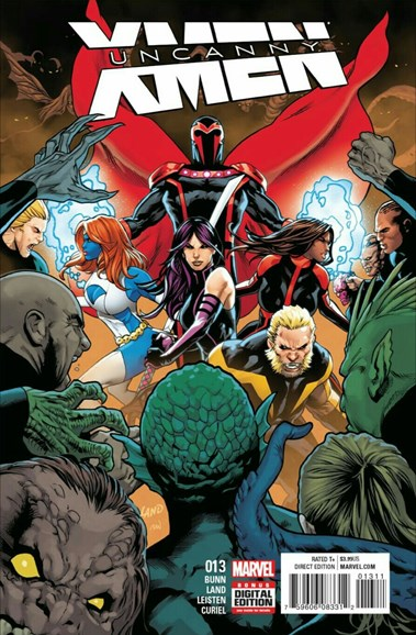 Astonishing X-Men Cover - 11/15/2016