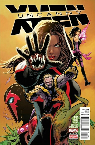 Astonishing X-Men Cover - 10/1/2016