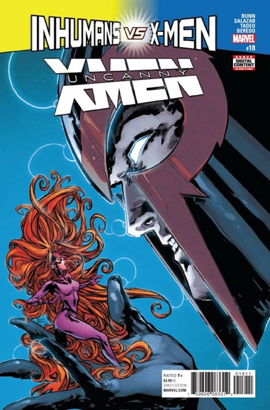 Astonishing X-Men Cover - 4/1/2017
