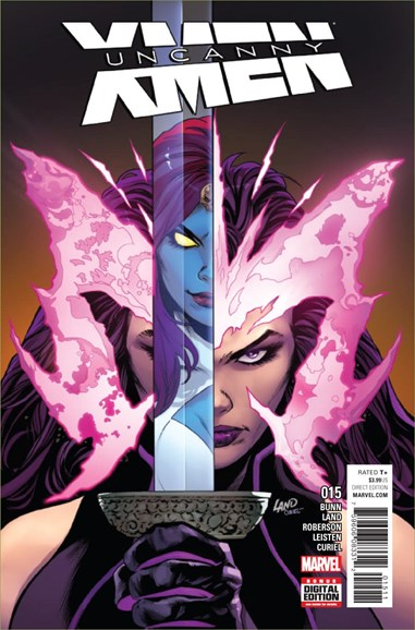Astonishing X-Men Cover - 1/1/2017