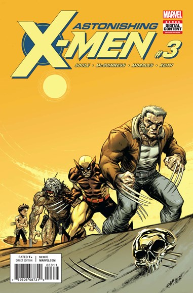 Astonishing X-Men Cover - 11/1/2017