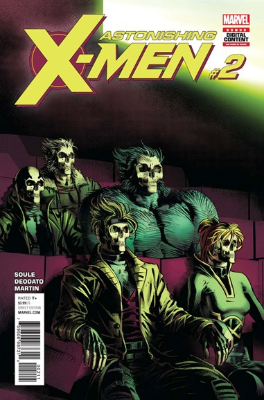 Astonishing X-Men Cover - 10/1/2017