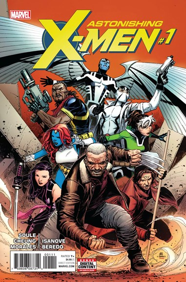 Astonishing X-Men Cover - 9/1/2017