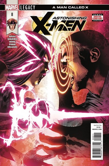 Astonishing X-Men Cover - 4/1/2018