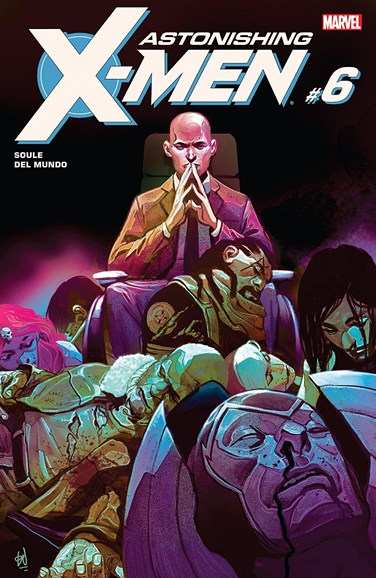 Astonishing X-Men Cover - 2/1/2018
