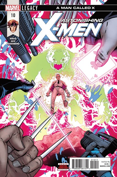 Astonishing X-Men Cover - 6/1/2018