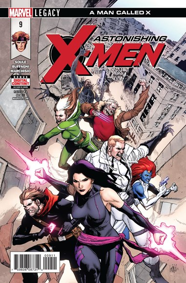 Astonishing X-Men Cover - 5/1/2018