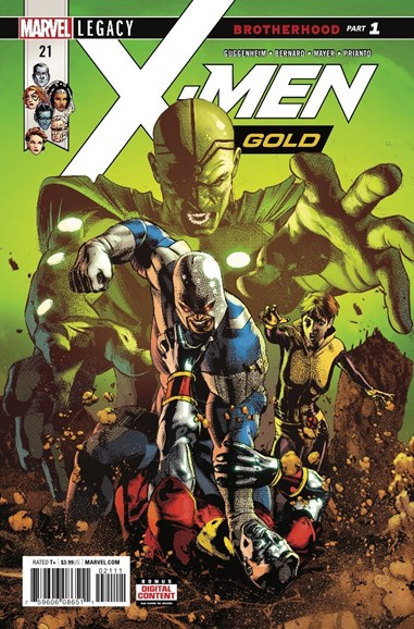 X-Men Gold Cover - 4/1/2018
