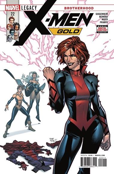 X-Men Gold Cover - 4/15/2018