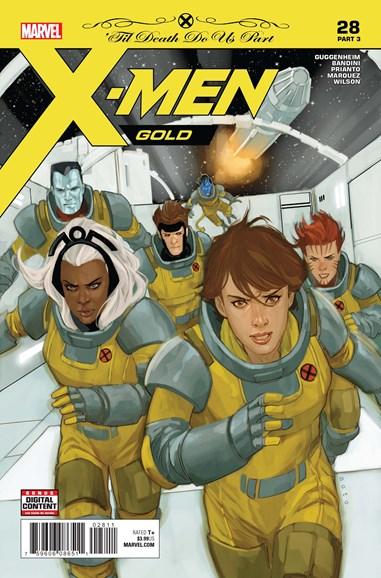 X-Men Gold Cover - 7/15/2018